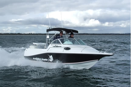 Evolution Boats 552 Series